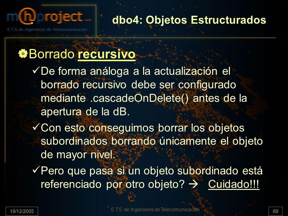dbo4: Objetos Estructurados