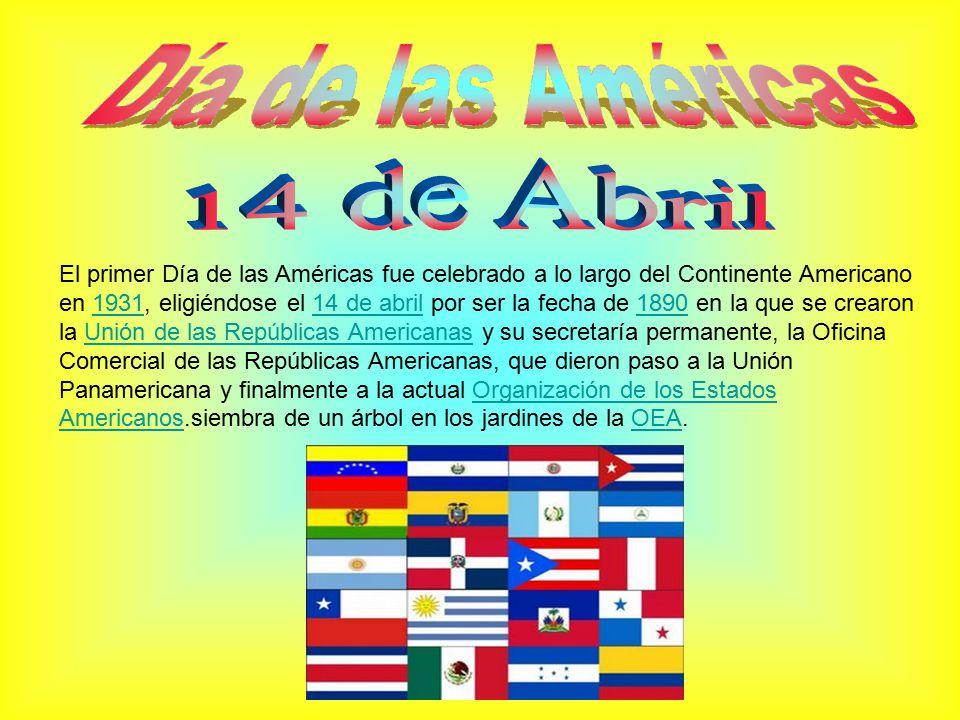 Día de las Américas 14 de Abril