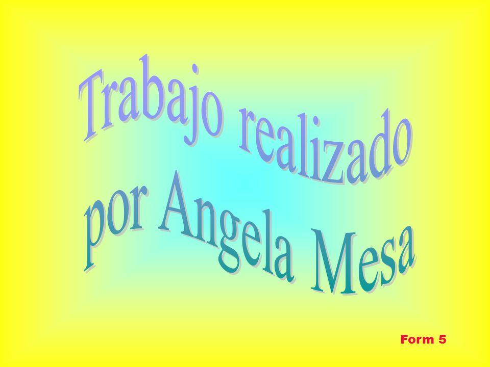 Trabajo realizado por Angela Mesa Form 5