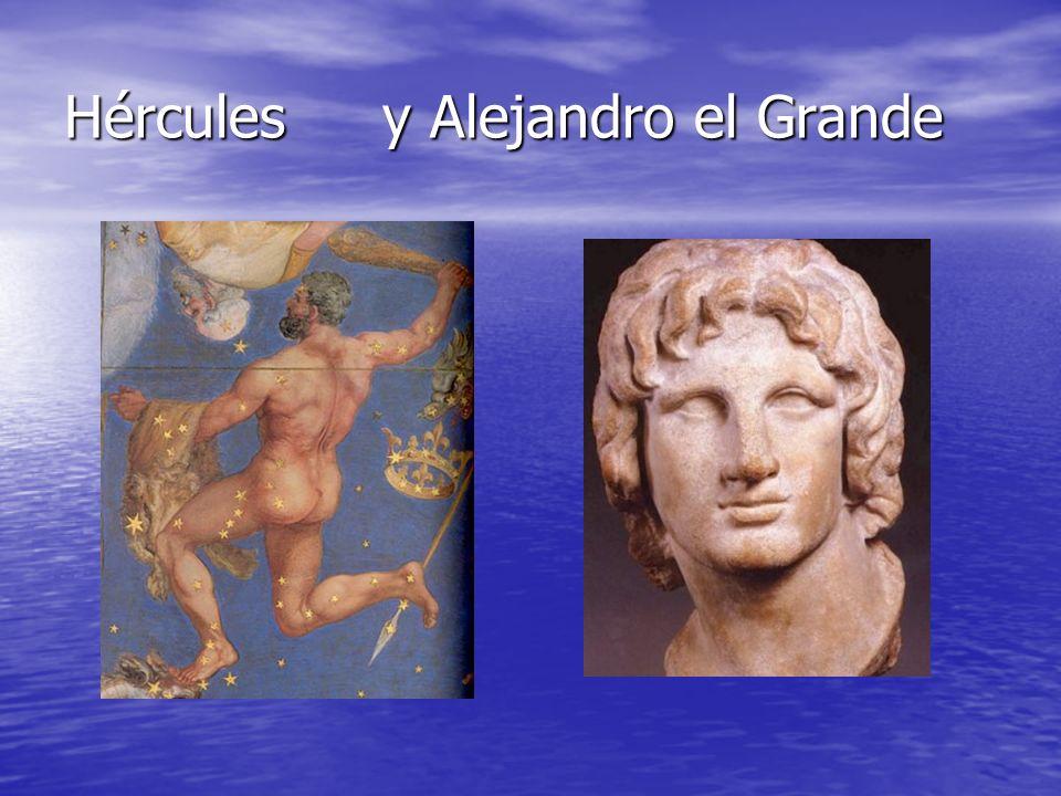 Hércules y Alejandro el Grande