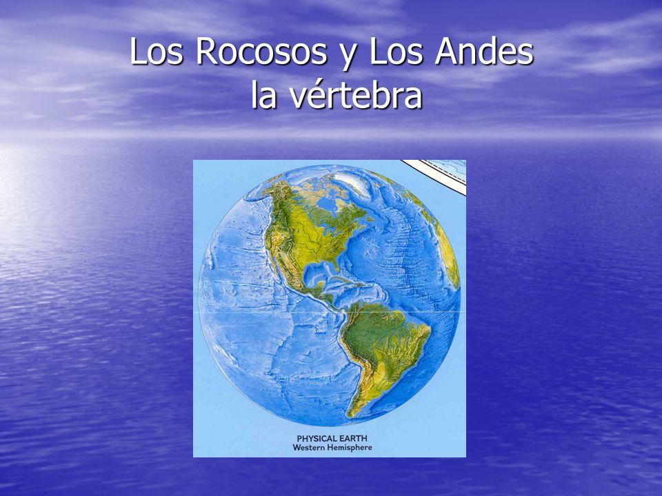 Los Rocosos y Los Andes la vértebra