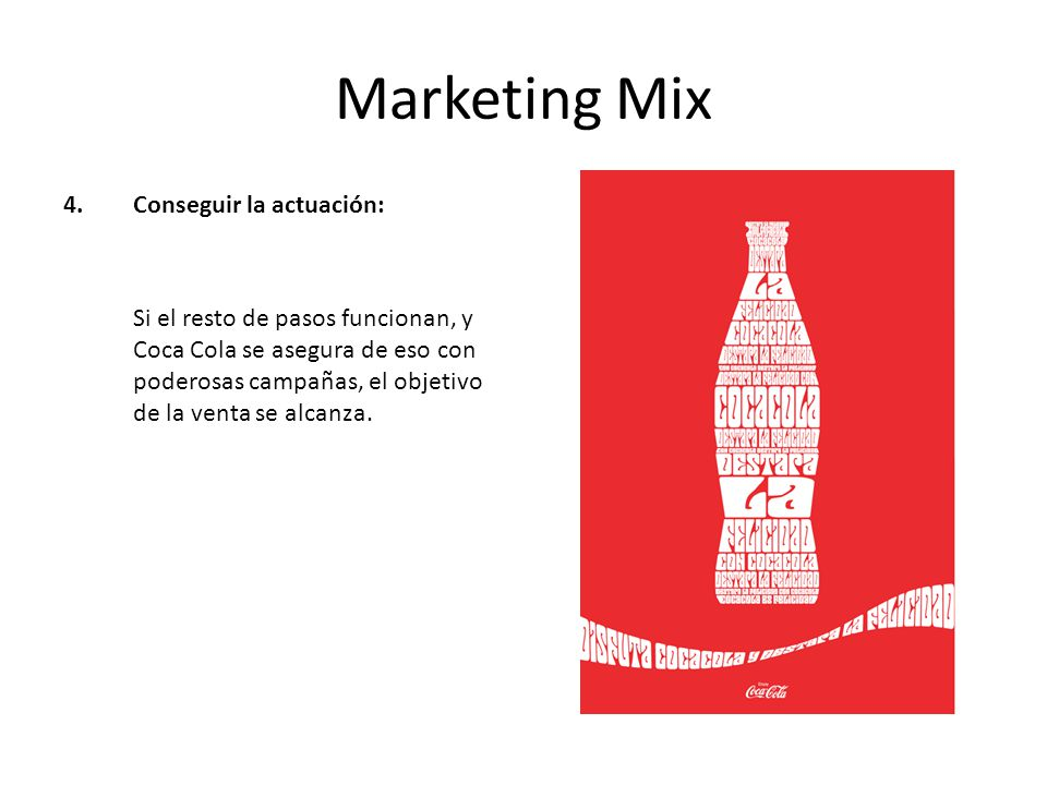 diet coke marketing mix In contrast, the firm's product mix describes the combination of different product   damaging the brand name coca cola, coke instead named its diet cola tab.