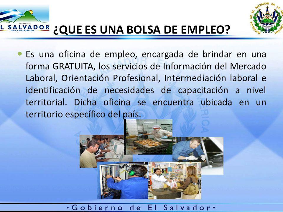 Sistema de protecci n social y promoci n del empleo ppt for Bolsa de trabajo oficinas de gobierno