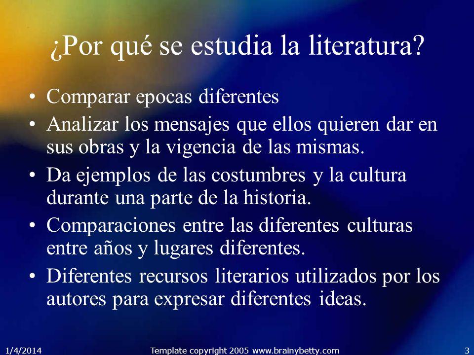 ¿Por qué se estudia la literatura