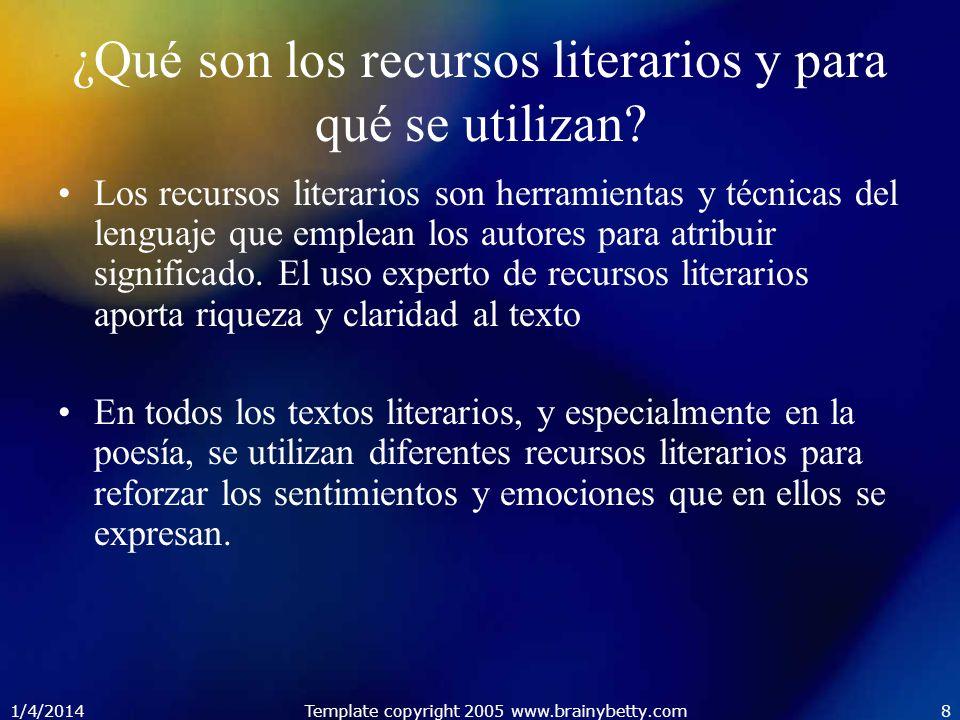 ¿Qué son los recursos literarios y para qué se utilizan