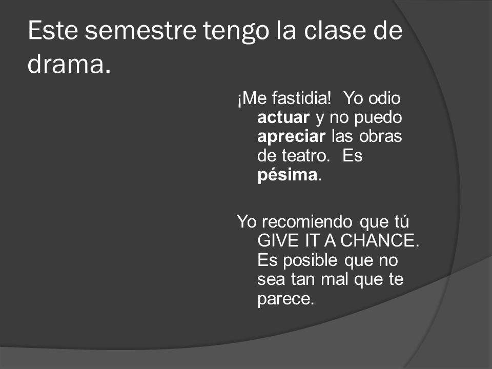 Español 3 Unidad 4 Vocabulario A Y B