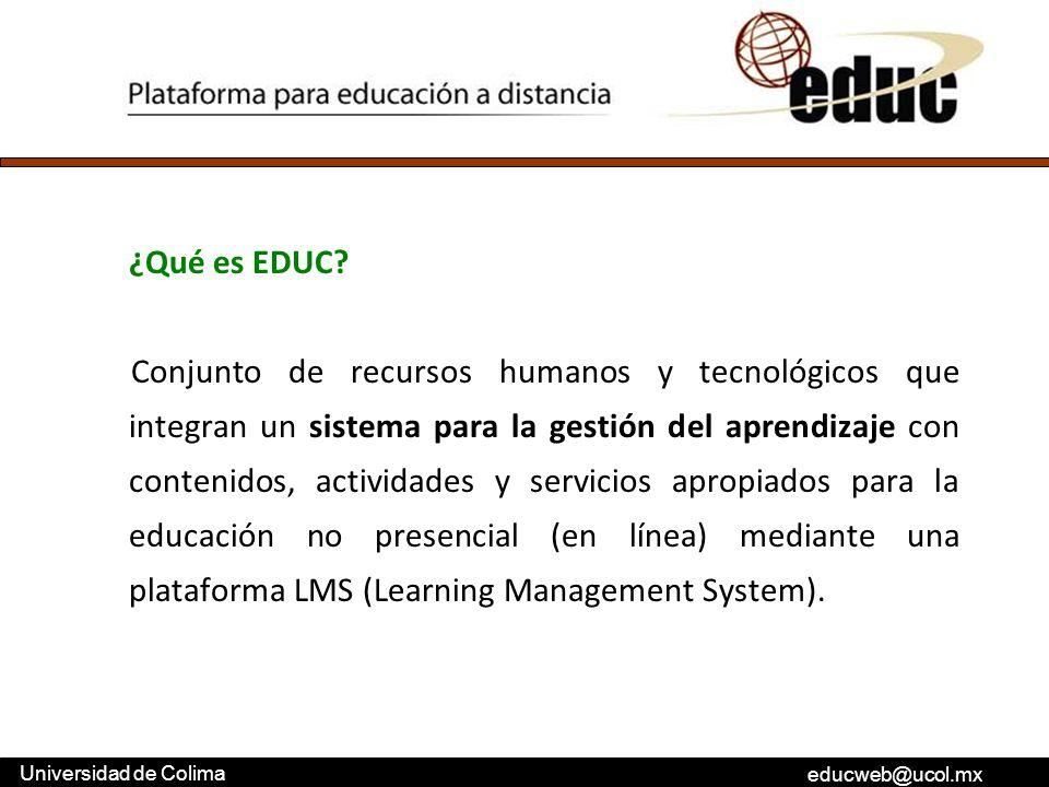 ¿Qué es EDUC