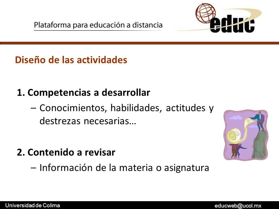 1. Competencias a desarrollar