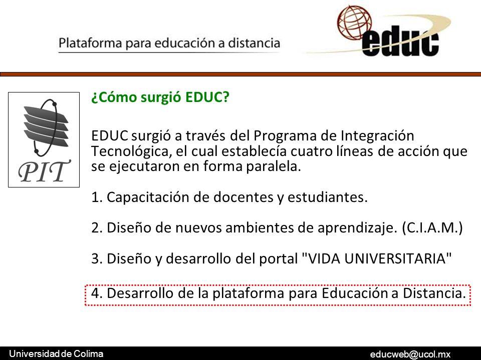 ¿Cómo surgió EDUC