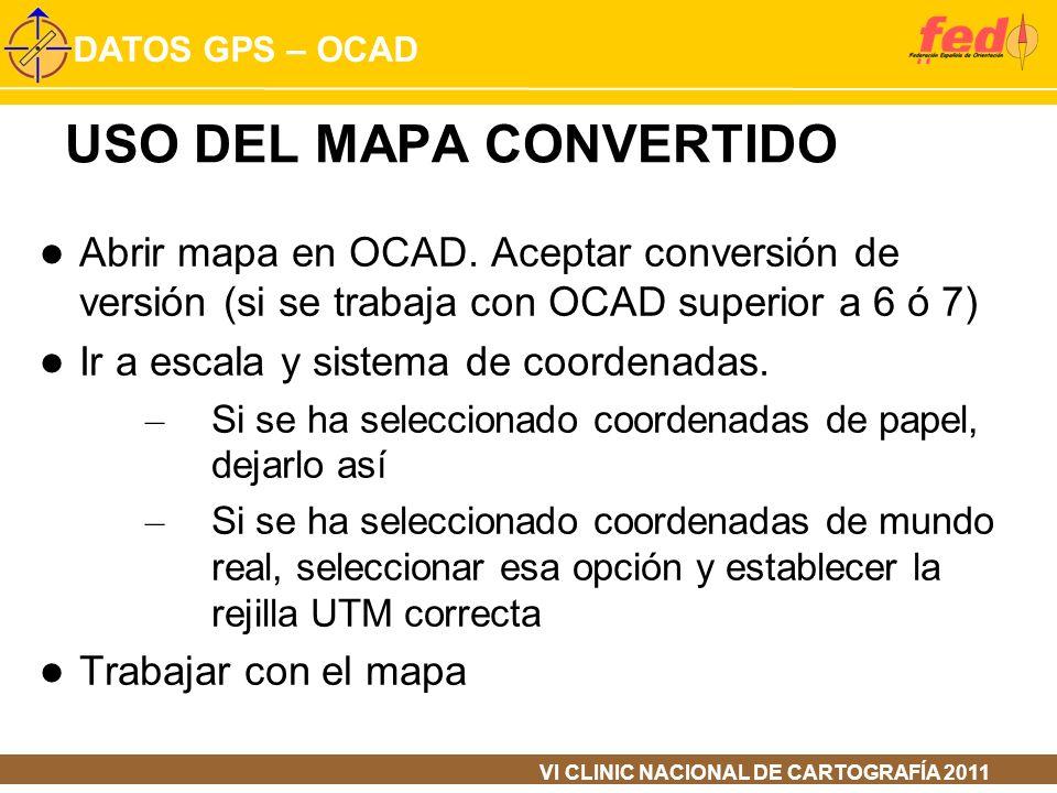 USO DEL MAPA CONVERTIDO