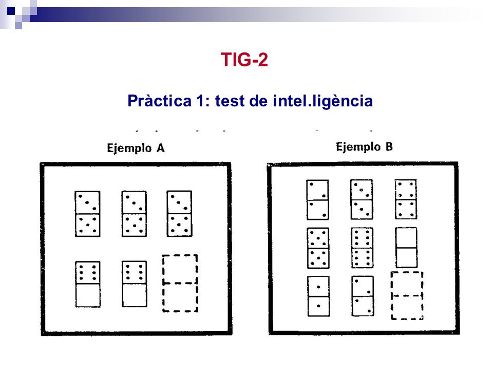 TIG-2 Pràctica 1: test de intel.ligència