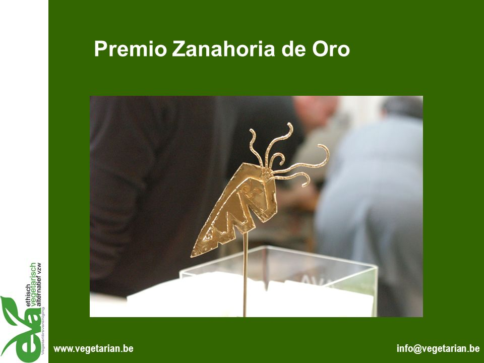 Premio Zanahoria de Oro