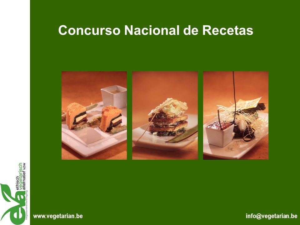 Concurso Nacional de Recetas