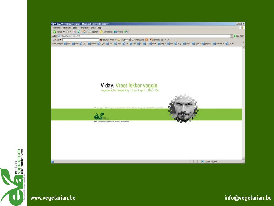 www.vegetarian.be