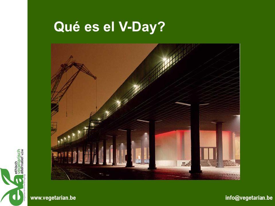 Qué es el V-Day www.vegetarian.be