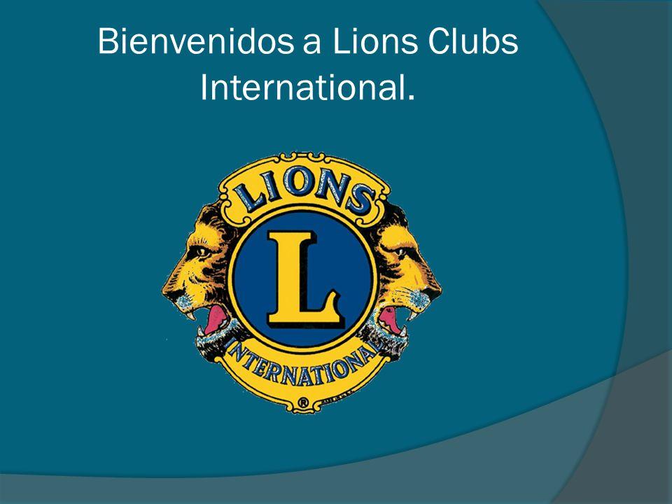 Bienvenidos a Lions Clubs International.