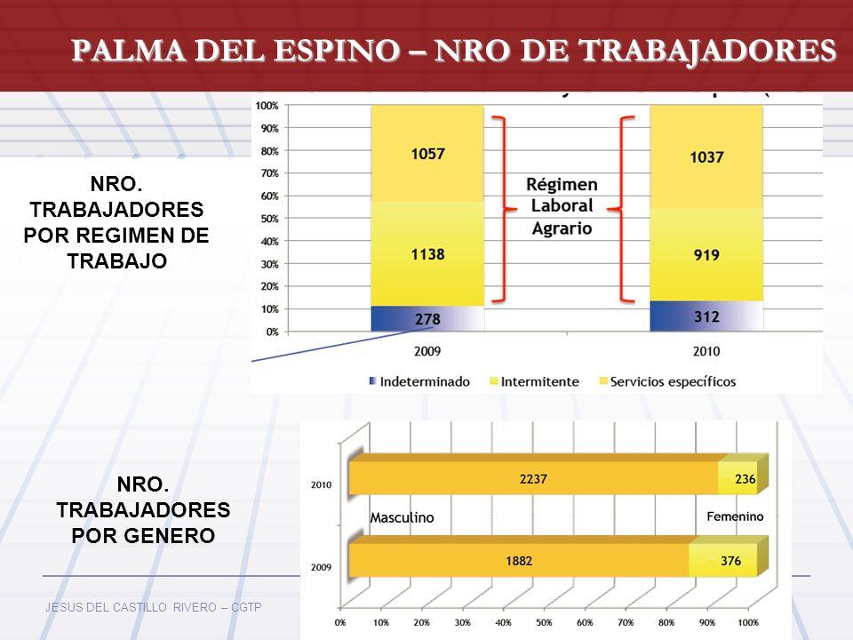 PALMA DEL ESPINO – NRO DE TRABAJADORES