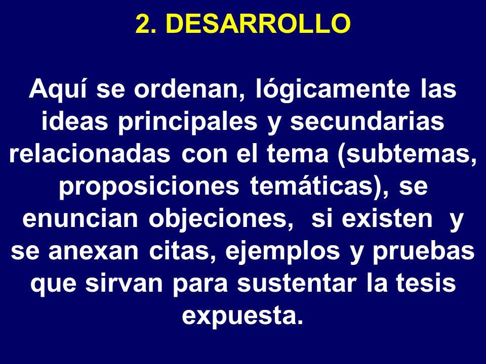 2. DESARROLLO