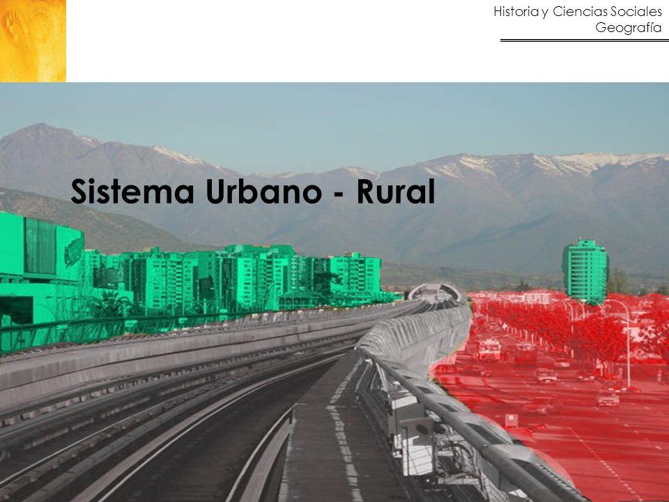 Sistema Urbano - Rural