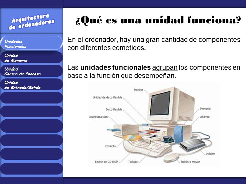 Arquitectura de ordenadores ppt video online descargar for Arquitectura ordenador