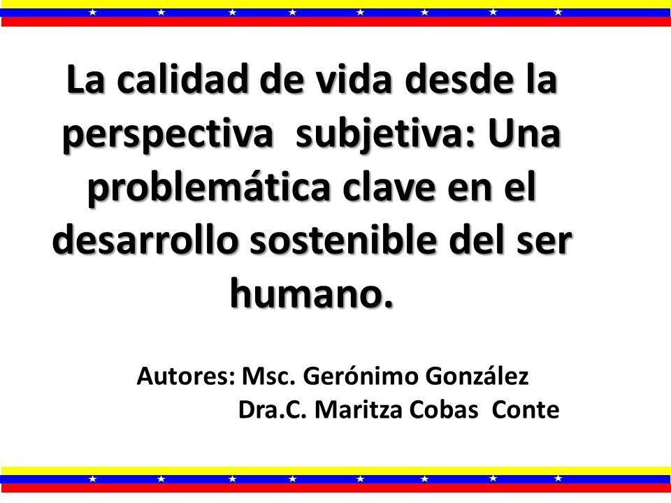 Autores: Msc. Gerónimo González Dra.C. Maritza Cobas Conte
