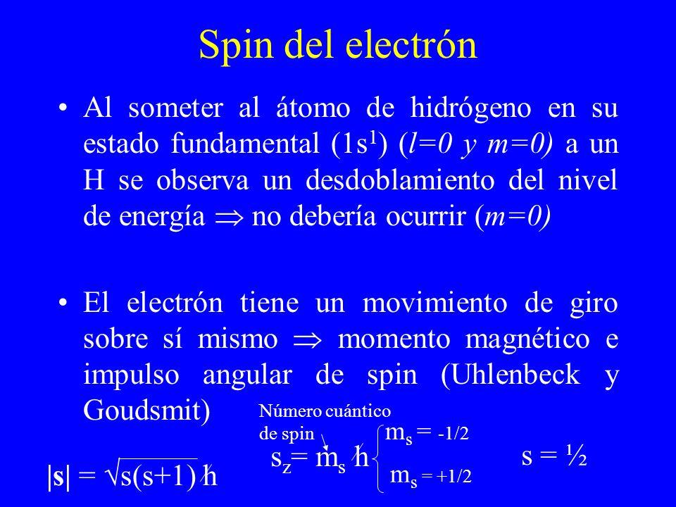 Spin del electrón