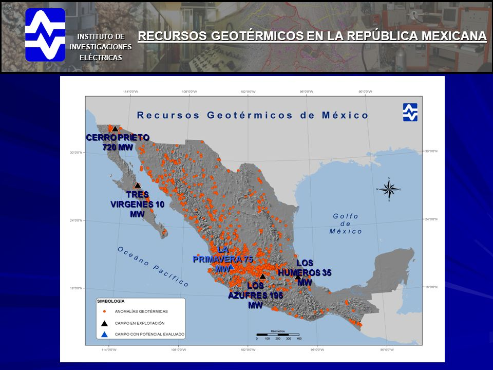 RECURSOS GEOTÉRMICOS EN LA REPÚBLICA MEXICANA