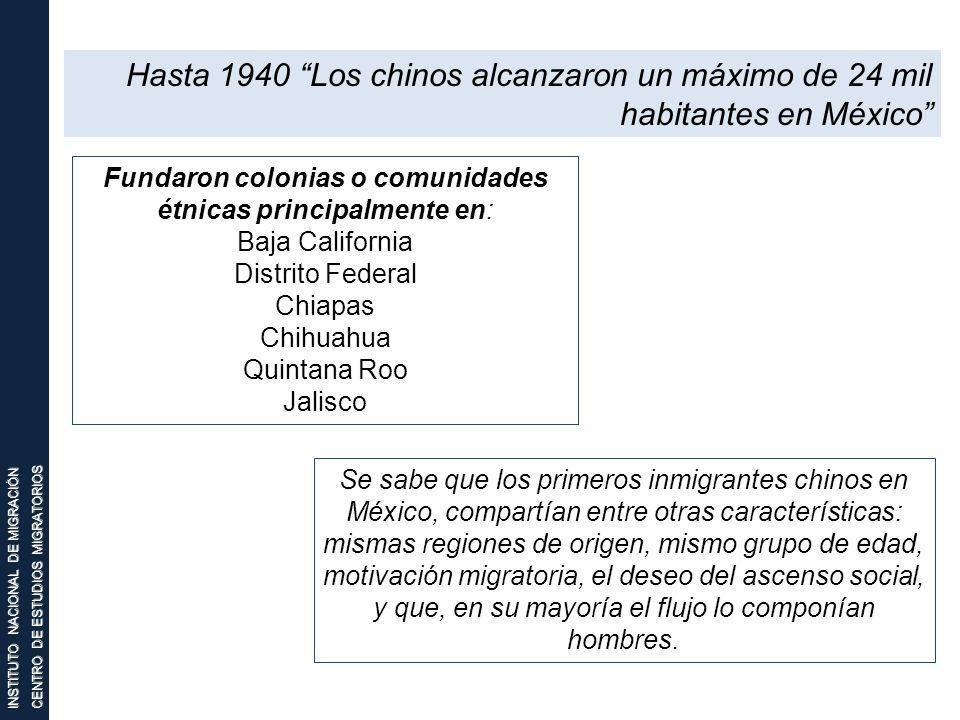 Fundaron colonias o comunidades étnicas principalmente en: