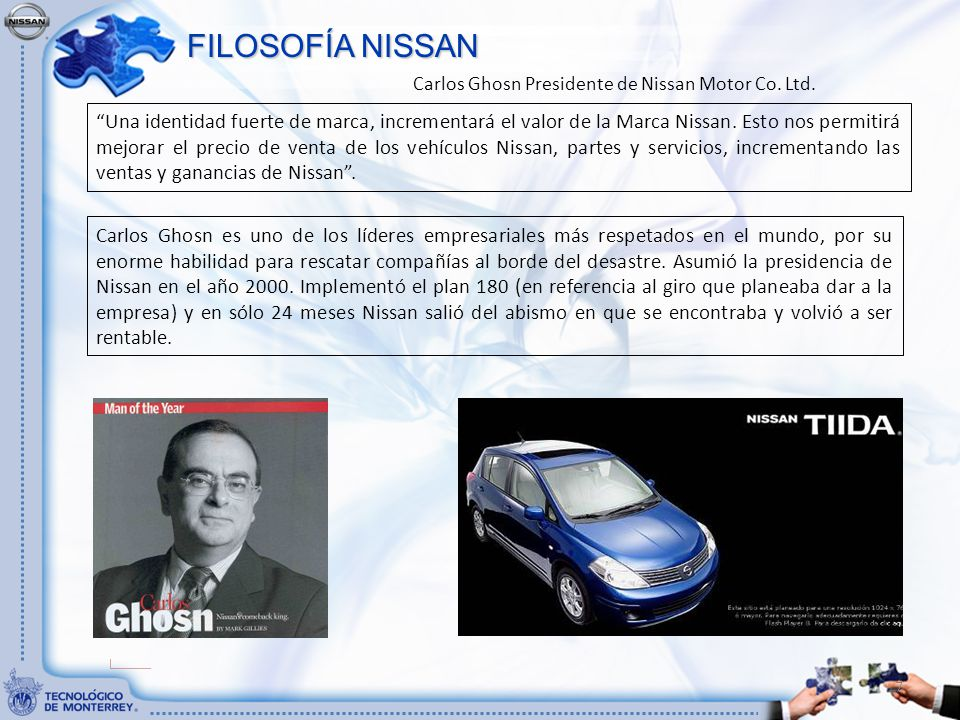 Certificaci n as dos nivel ii ppt descargar for Marketing strategy of nissan motor company