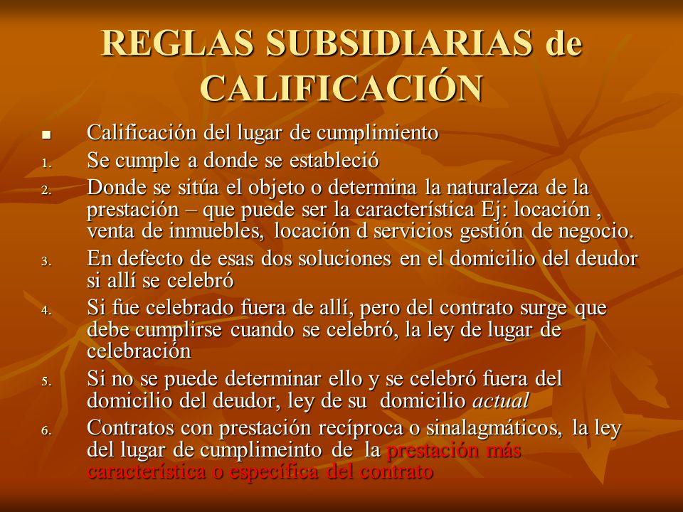 Derecho internacional privado ppt descargar for Regla del fuera de lugar