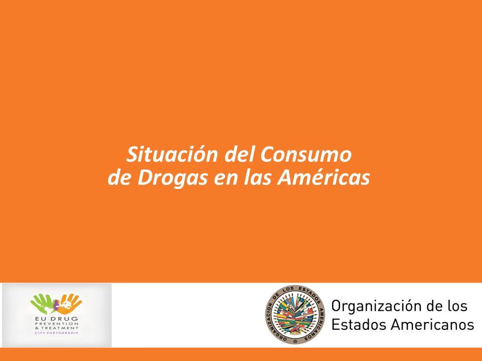 Situación del Consumo de Drogas en las Américas