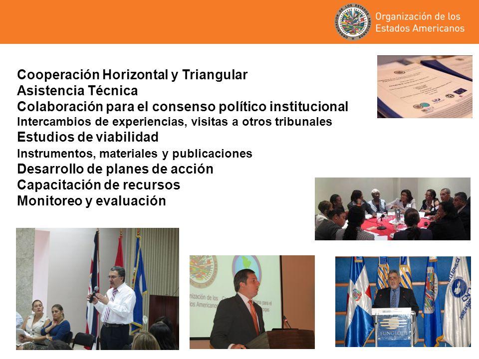 Cooperación Horizontal y Triangular Asistencia Técnica