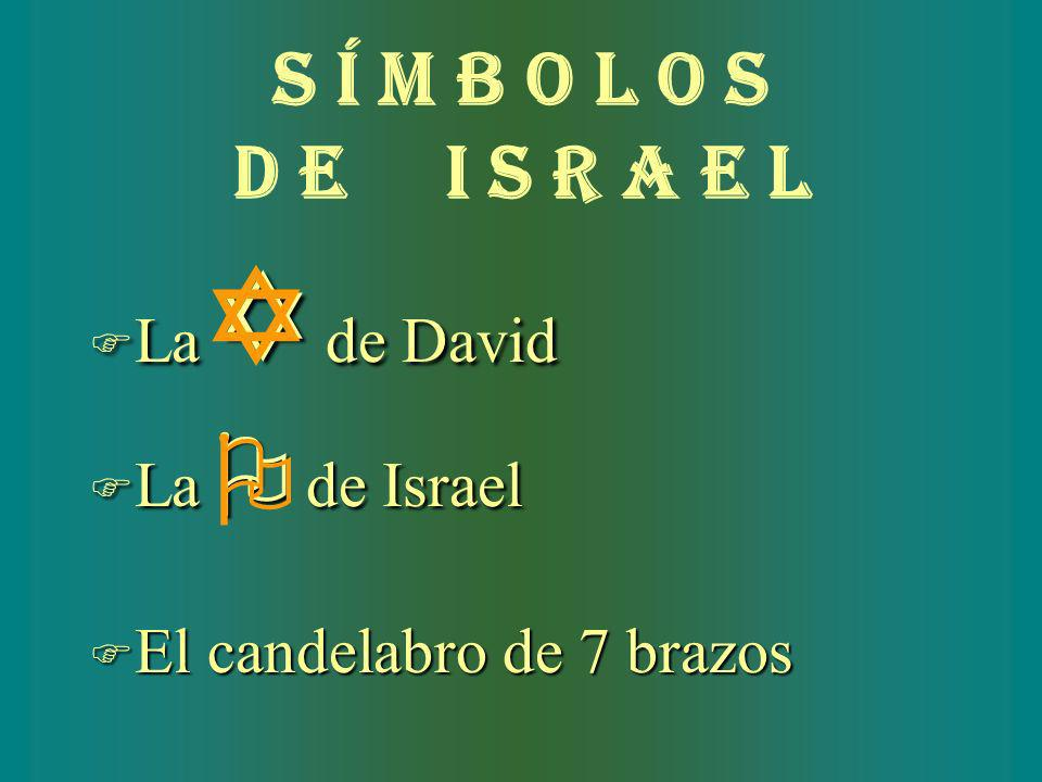 Y O S í M B O L O S D E I S R A E L La Y de David La O de Israel