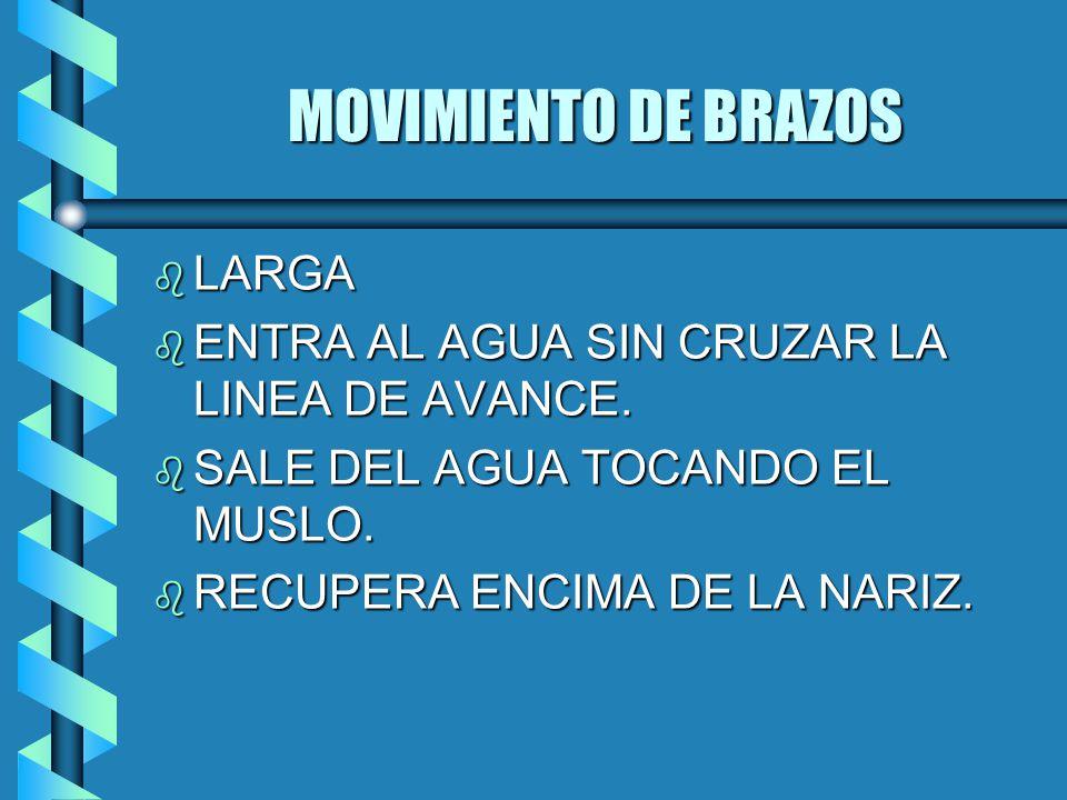 MOVIMIENTO DE BRAZOS LARGA