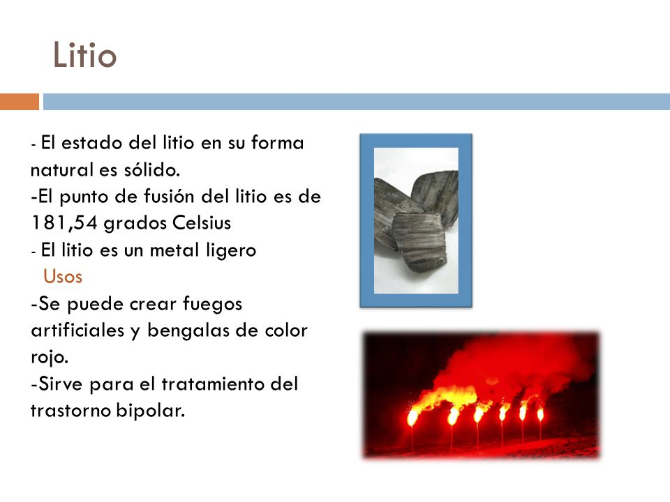 Alcalinos y alcalino trreos ppt video online descargar 4 litio urtaz Images