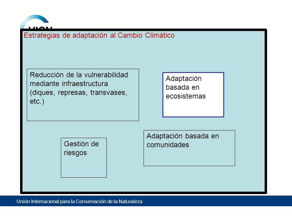 Estrategias de adaptación al Cambio Climático