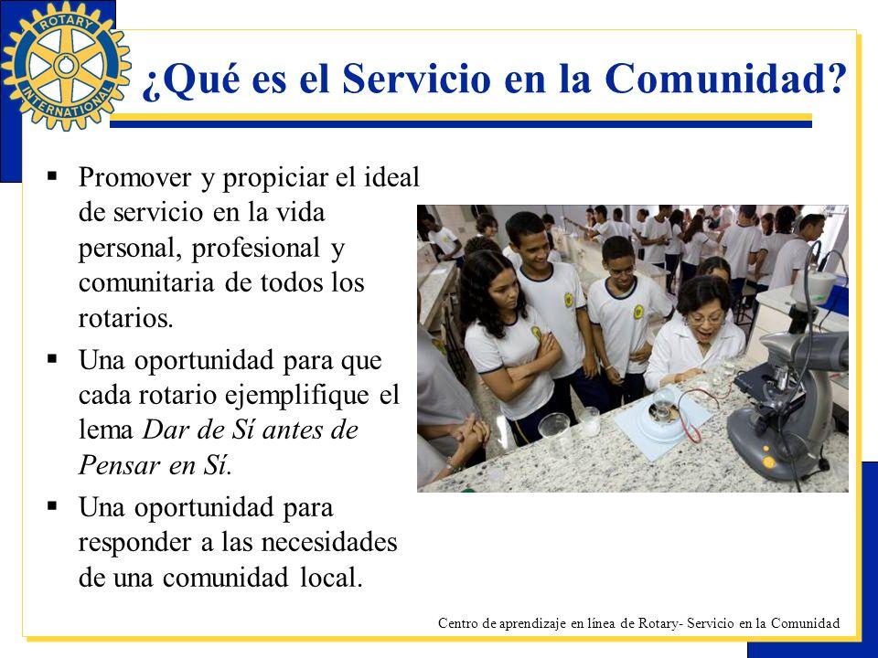 ¿Qué es el Servicio en la Comunidad