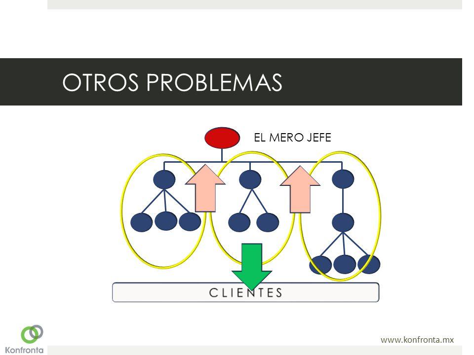 OTROS PROBLEMAS EL MERO JEFE C L I E N T E S