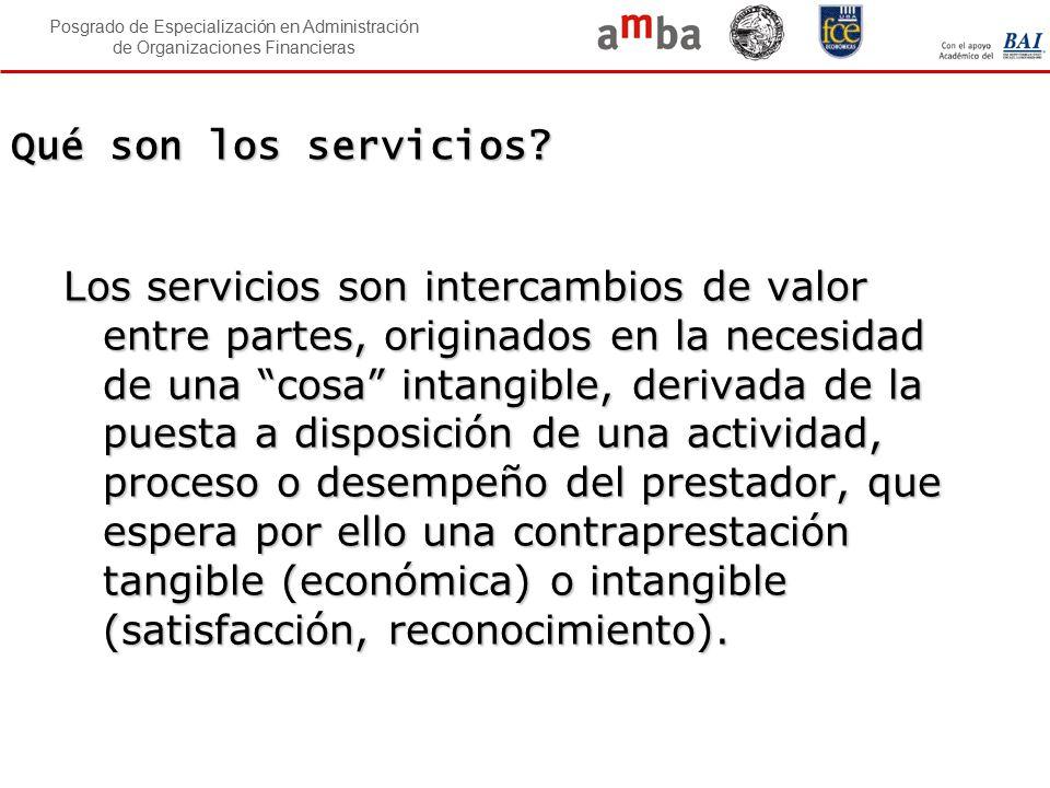 Qué son los servicios