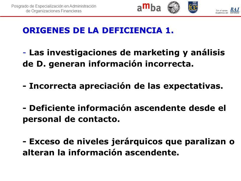 ORIGENES DE LA DEFICIENCIA 1