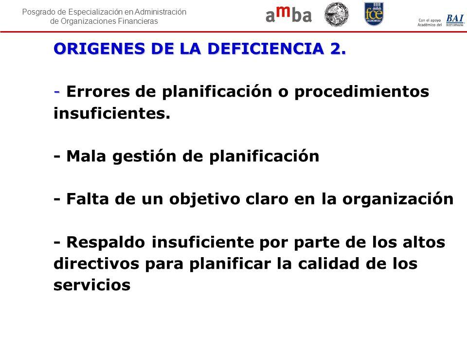 ORIGENES DE LA DEFICIENCIA 2