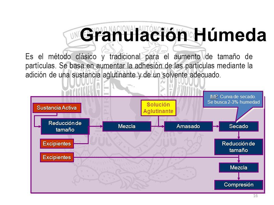 Granulación Húmeda