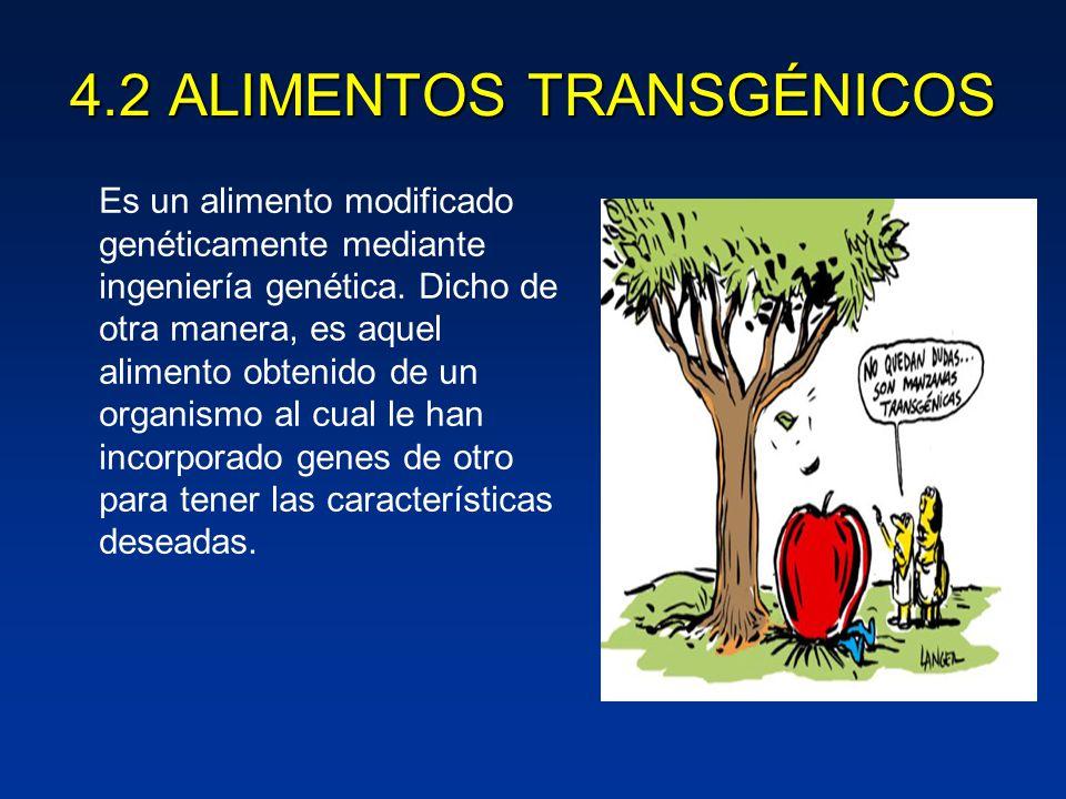 Tecnologia de los alimentos ppt video online descargar - Ventajas alimentos transgenicos ...