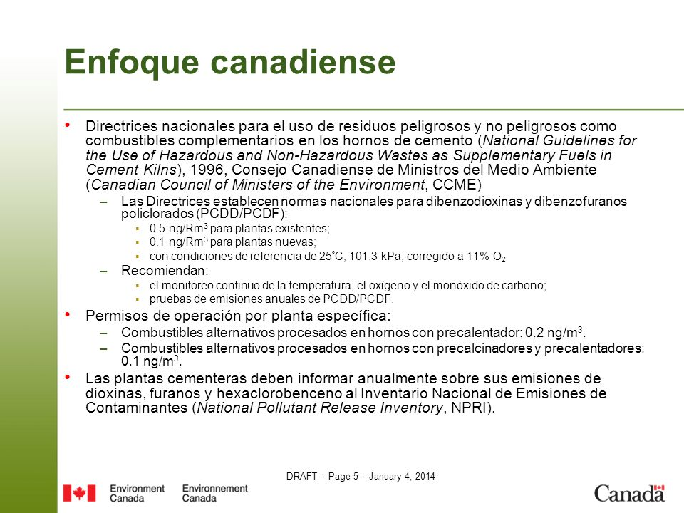 Enfoque canadiense