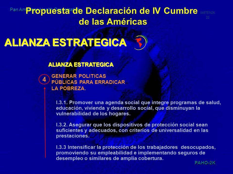 Propuesta de Declaración de IV Cumbre