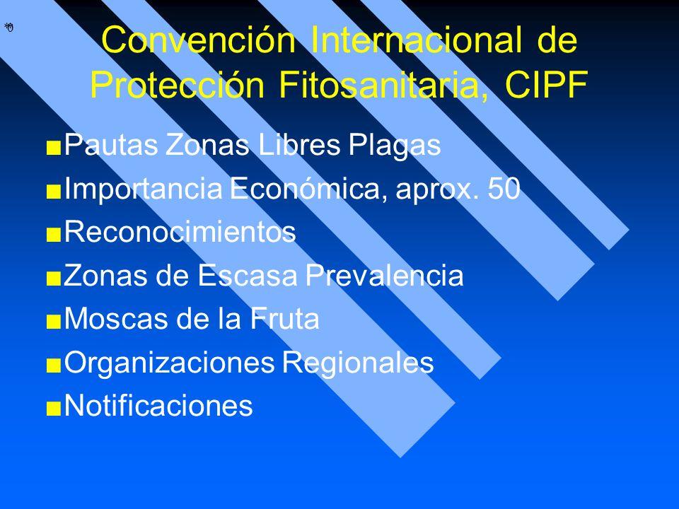 Convención Internacional de Protección Fitosanitaria, CIPF