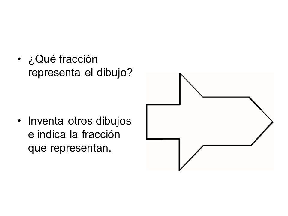 ¿Qué fracción representa el dibujo
