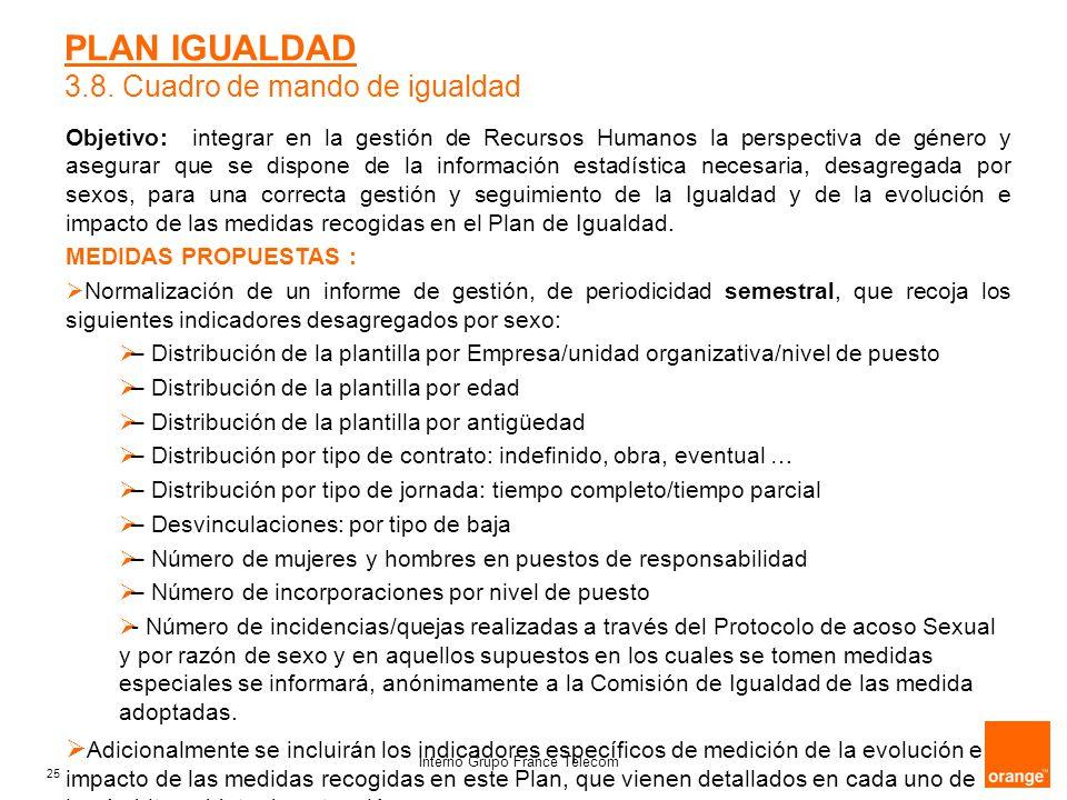 Orange PLAN DE IGUALDAD Interno Grupo France Telecom. - ppt descargar