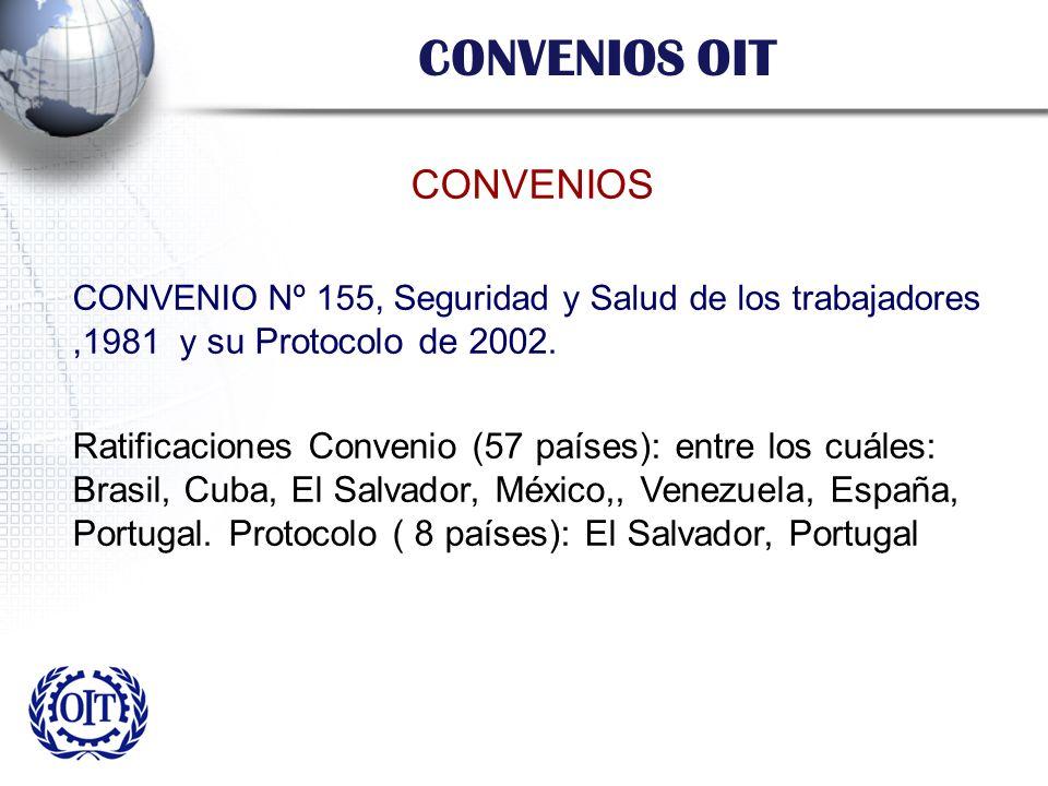 CONVENIOS OIT CONVENIOS