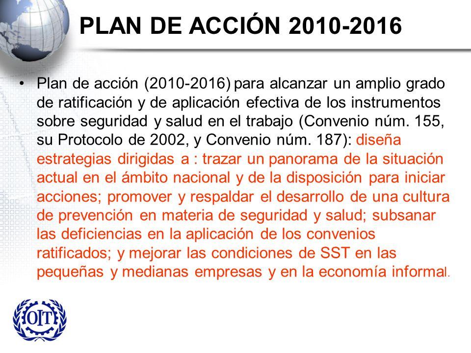 PLAN DE ACCIÓN 2010-2016